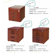 Office  3/4/5 drawers wooden filing cabinets