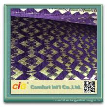 Material del sofá del chenille de 100 poliéster sofá chenilla