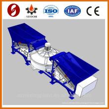 Nova condição 20-25m3 / h misturadora de concreto móvel, planta de mistura de concreto. Planta de concreto
