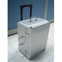 Caso de herramienta de aluminio fácil de transportar fácil de la carretilla con la inserción de encargo de la espuma (KeLi-carro-09)