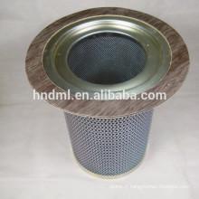 séparateur d'huile et de gaz élément filtrant 92765783 élément filtrant séparateur de gaz, cartouche filtrante en acier inoxydable