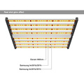 Luces de cultivo LED regulables Spectrum King 640w