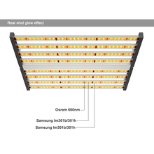 Dimmable Spectrum King LED Growing Lights 640w
