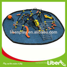 Chairman Company of playground Association,high quality outdoor rope climbing games
