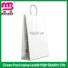 Recycled heavy duty custom craft paper shopping bag/garden bag Guangdong wholesale