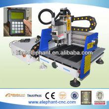 Venda quente mini madeira cnc router / mini máquina cnc para madeira / mini máquina de gravura do cnc