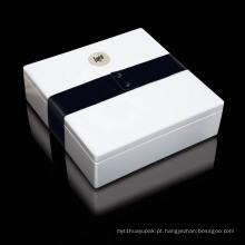 Caixa de embalagem de jóias de papel personalizado de alta qualidade