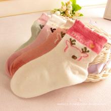 Maille d'été Design chaussettes avec des dessins de chat bonne qualité pour bébé