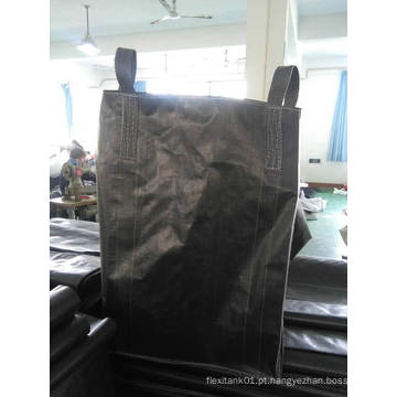 Saco de carbono preto grande para carregar 1000kg