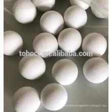White mill grinding ceramic balls