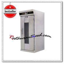 Proofer électrique de cuisson d'atomisation d'acier inoxydable de K071 avec le chariot de casserole de 11 plateaux