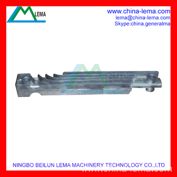Aluminum injection part for radiator