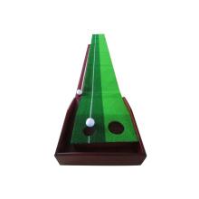 Mini golf de alta calidad putting green & Indoor golf putting mat