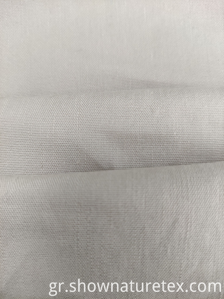 Linen Fabric with Span