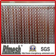 Conception pour le rideau en aluminium décoratif de lien de chaîne de salon