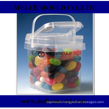 Decorative Plastic Storage Containers with Lids Mould