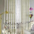 Отель химическая вышивка льняная ткань для штор