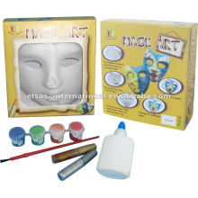 Design Party Maske / Kunststoff leere weiße Masken