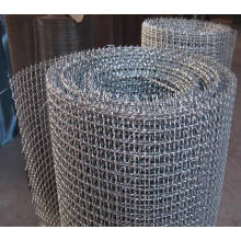Acero inoxidable de malla de alambre prensado para malla de malla de tamiz de minería