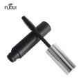 Matte black eyelash tube round empty mascara tube