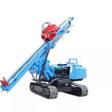 Crawler hydraulic  post pile driver hydraulic mini pile driver  with CE certificate