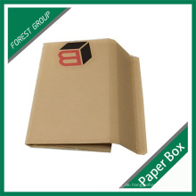 Benutzerdefinierte braun Kraft Mailing Box für Buch