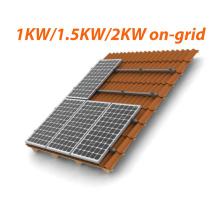 1kw 1.5kw 2kw Sistema de energía solar