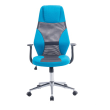 Executive office furniture blue mesh office chair rocking mechanism