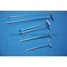 Metallhalterung Drahtbügelhaken rostfrei verzinkt