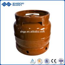 Gaz de cuisson 6KG remplissant le cylindre soudé de LPG de réservoir de stockage