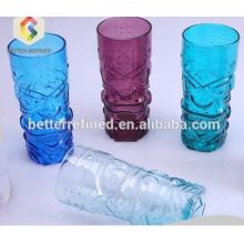 Caneca de vidro personalizada tiki