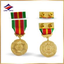 Medalha comemorativa de medalha de liga de zinco personalizada