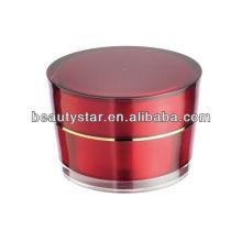 Cone Cosmetic Acrylic Jar For Cream 2g 5g 10g 15g 30g 50g 100g