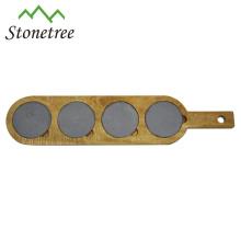 Hot Sale New Natural Stone + Acacia Slate Cheese Board Wholesale