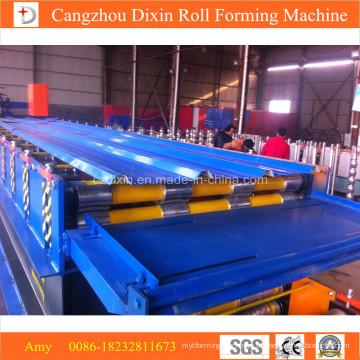 Máquina formadora de rolos para telhas