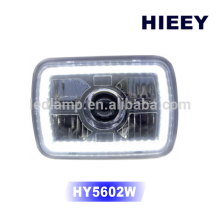 """DOT Approval 5""""x7"""" rectangle LED headlights off road vehicle head lights high/low beam"""