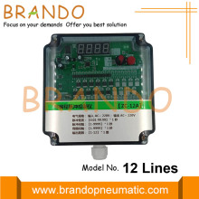 12 Lines Sequential Timer Board Jet Pulse Controller