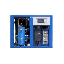 China Manufacturer 37 kw AC Variable Frequency Drive 3bar 5bar Pressure Screw Air Compressor