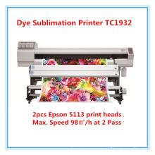 Sublimación Impresora Sublimación Impresora Precio de la máquina Tc1932