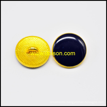 Shank Button with Epoxy black