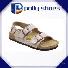 New Fashion Buckle Strap Summer Women Slip on Slides Sandals