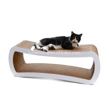 Deluxe Cat Play Sofa Wellpappe Katze Scratcher Lounge CT-4025