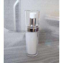 50ml clair obliques Toner acrylique rond bouteille cosmétique Bot