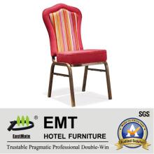 Silla agradable del banquete del mobiliario de la tela del diseño (EMT-513)