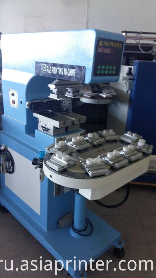 Pneumatic semi-auto pad printing machine