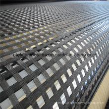 Geogrelha Uniaxial de poliéster com revestimento de PVC 60kn-1000kn