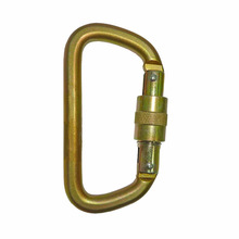 2308SG CE EN362 Connecting Devices Steel D Safety Hook