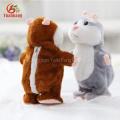 Peluche Mimetismo Pet Toy Boneca Eletrônica Plush falando e repetir falando X hamster brinquedo animais de pelúcia brinquedo de pelúcia personalizado
