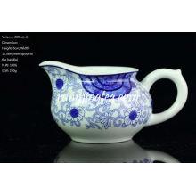 """""""Orchid Ratan"""" Pintar la jarra de porcelana azul y blanca, 200 cc / lanzador"""