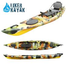 Barco de pesca de 4.3m comprimento para homem único Fisher, assento / motor disponível